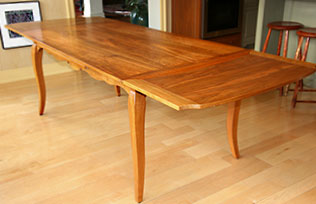 Dutch Pullout Extension Table - Max open