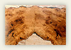 Cherry Burl Desk